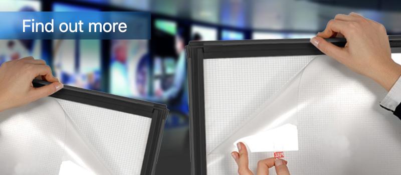 Snap Frame LED Display Board | LED Illuminated Display Boards